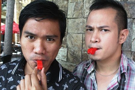 Blowing the 'Red Whistle' to stop spread of HIV/AIDS. Gay activists want stronger awareness on the diseases spread