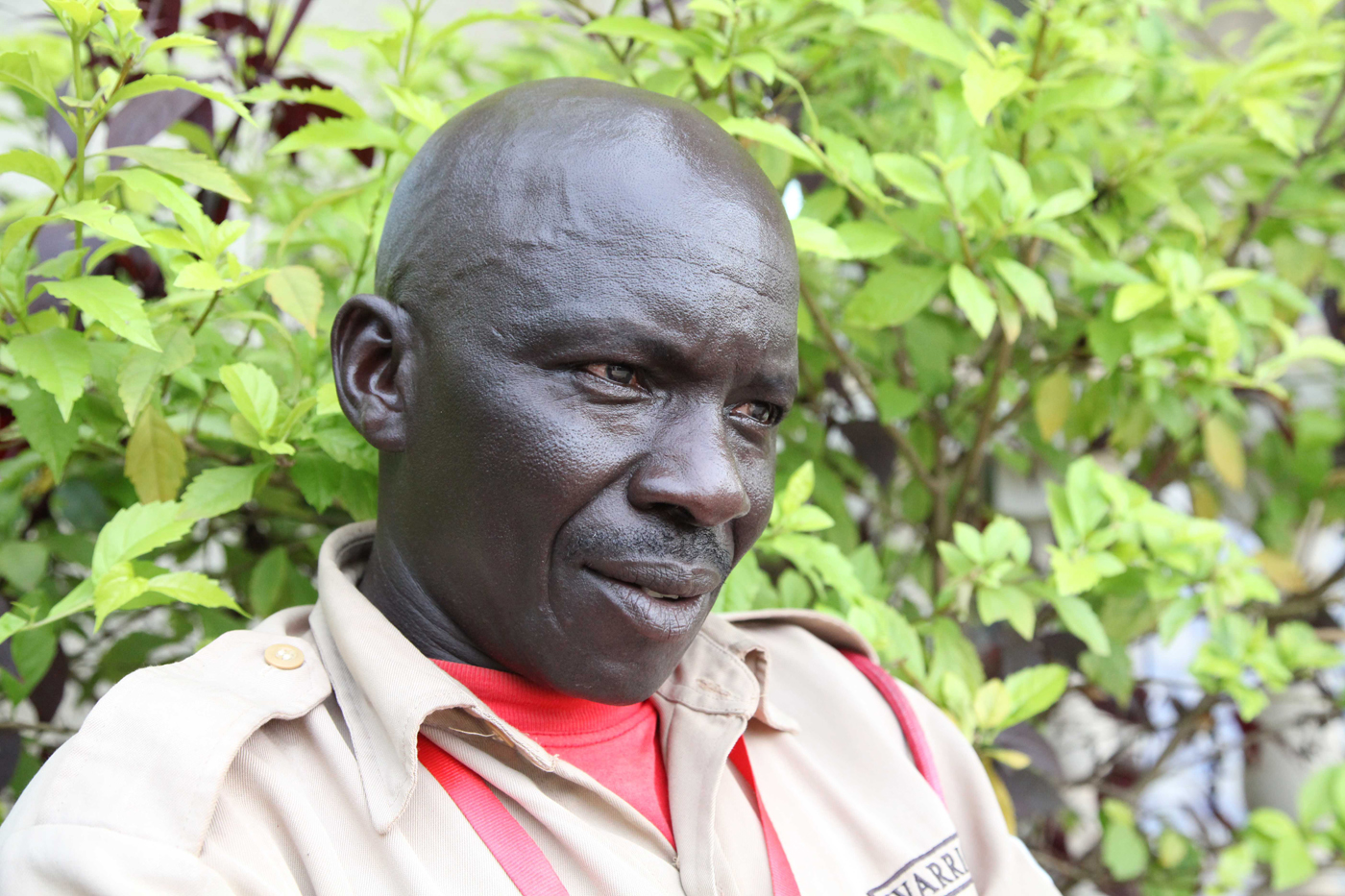 Chaplain Paul – security guard, South Sudan