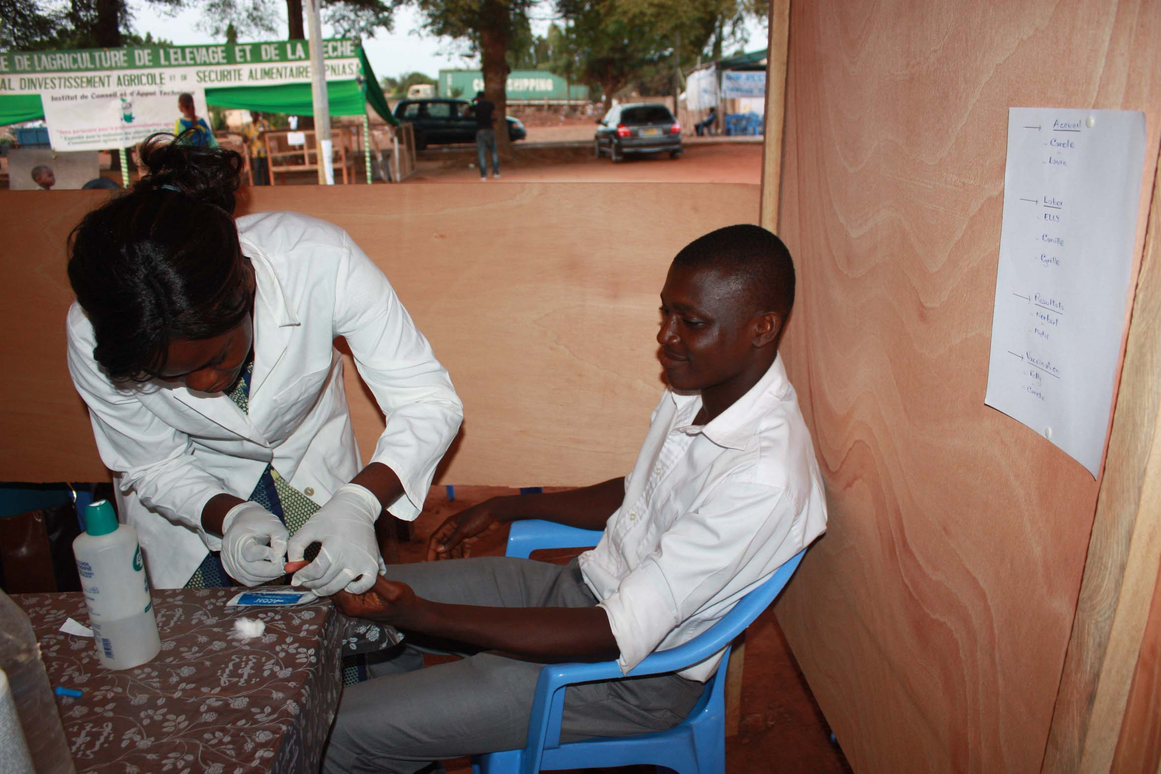 There is little awareness of viral hepatitis in Togo