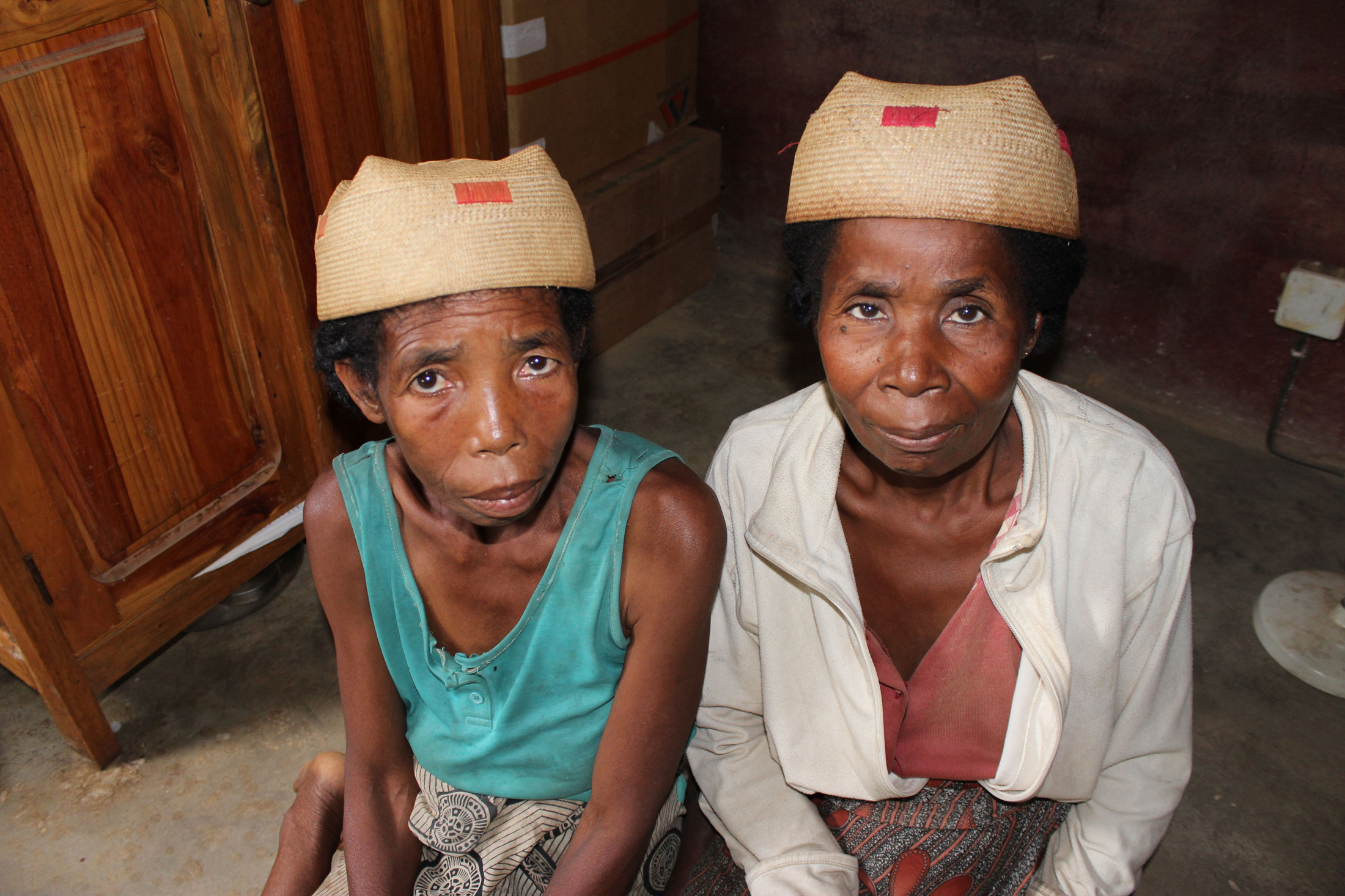 Traditional Midwives or matronnes in Madagascar who are now part of a campaign to get women to deliver in hospitals