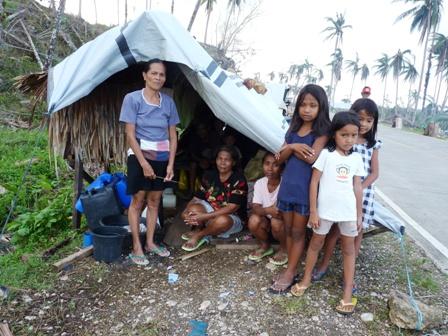 6.2 million people were affected by Typhoon Bhopa, which struck the southern island of Mindanao on 4 December 2012, leaving thousand homeless. More than 1,000 people lost their lives