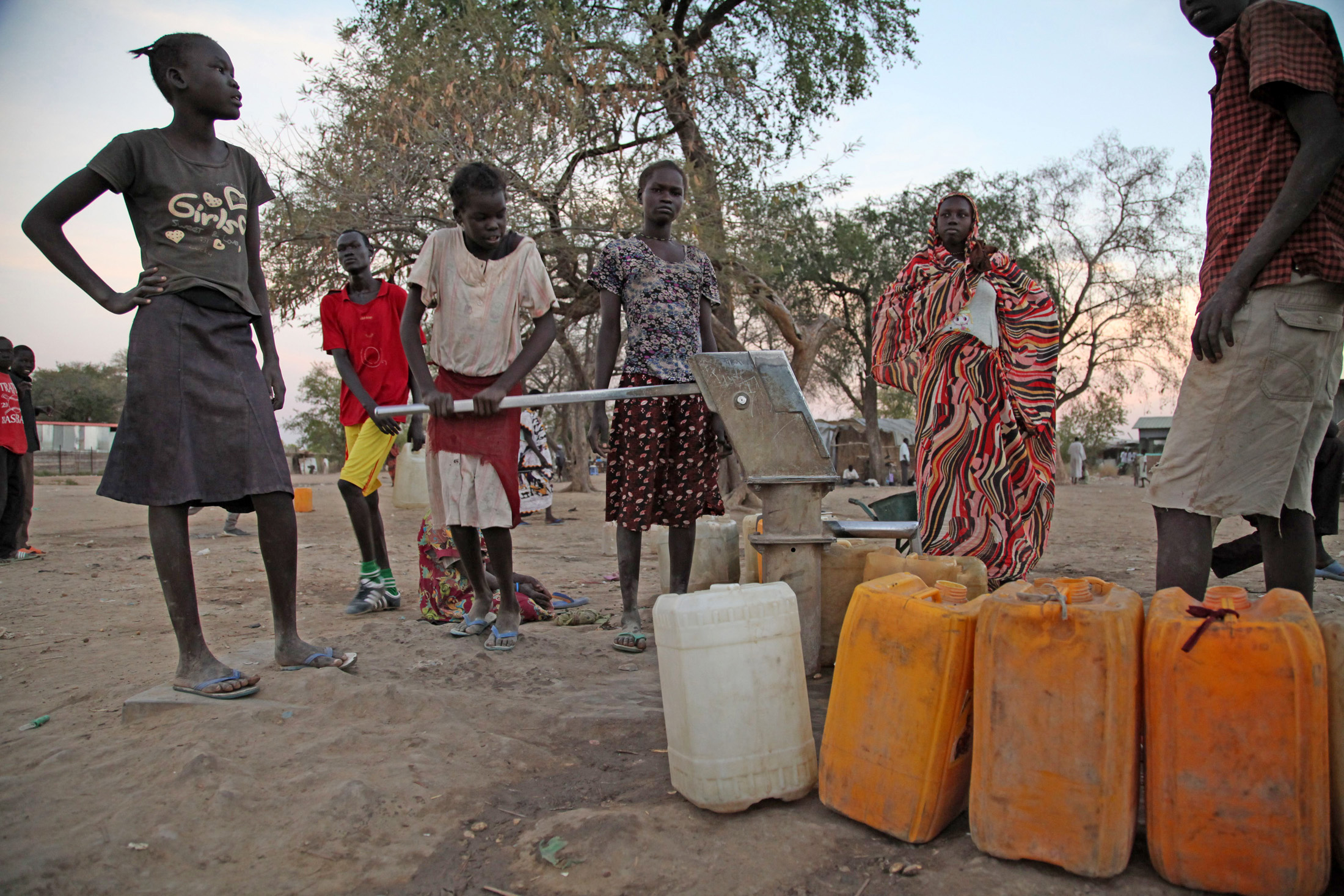 Basic services in Agok are missing as donors are reluctant to assist in rebuilding Abyei