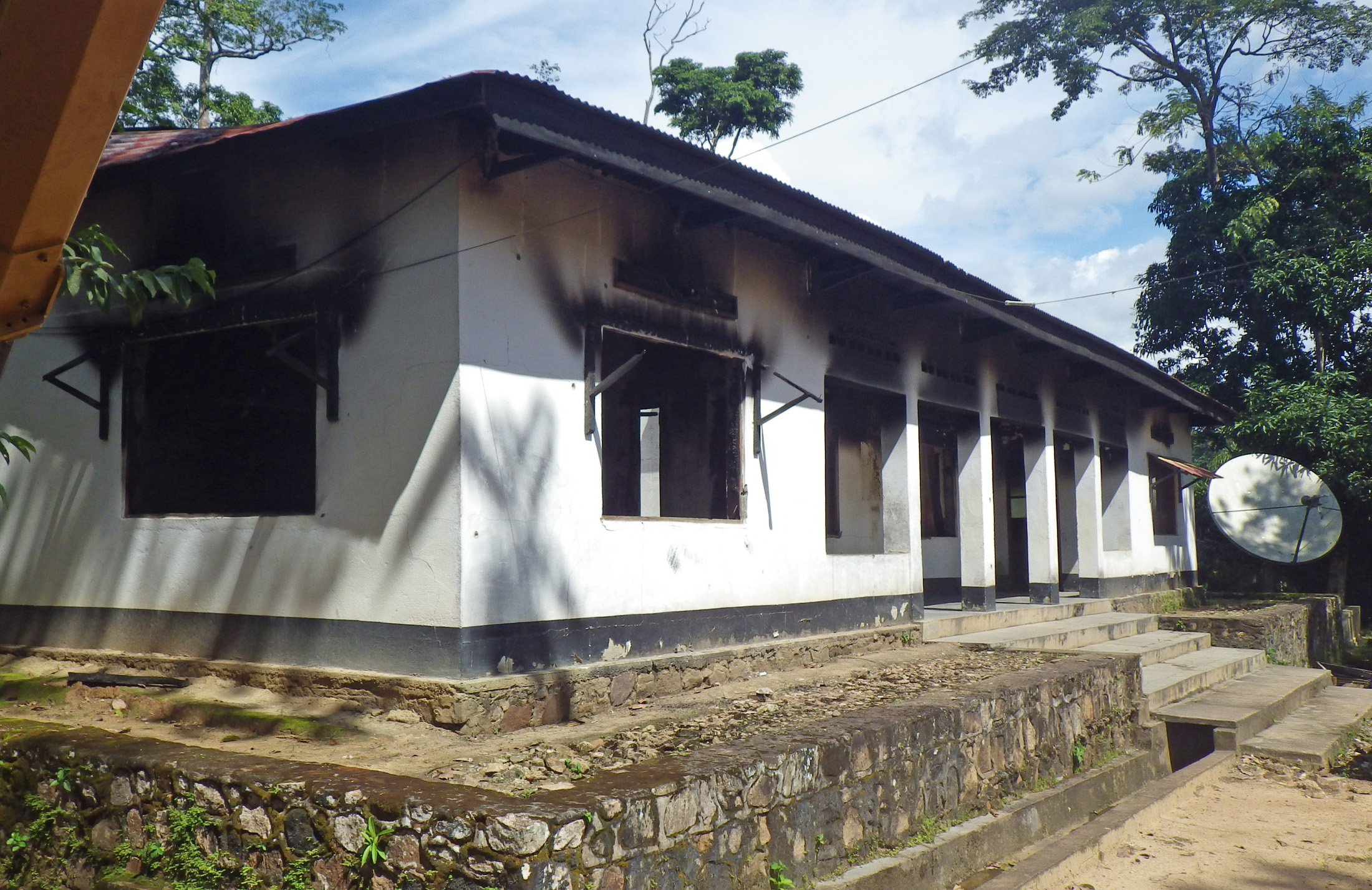 Administrative offices in the Okapi Forest Reserve, in DRC's Orientale province, were torched and several people killed, with others abducted, during a June 2012 raid by an armed group led by Paul Sadala, better known as Morgan