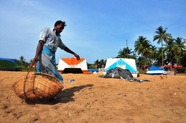 The dwindling catch means, fishermen's income levels have fallen badly. Fishing is an important livelihood in northern Sri Lanka