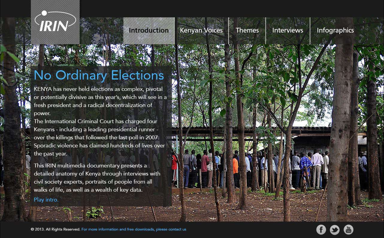 Kenya Election Multimedia special