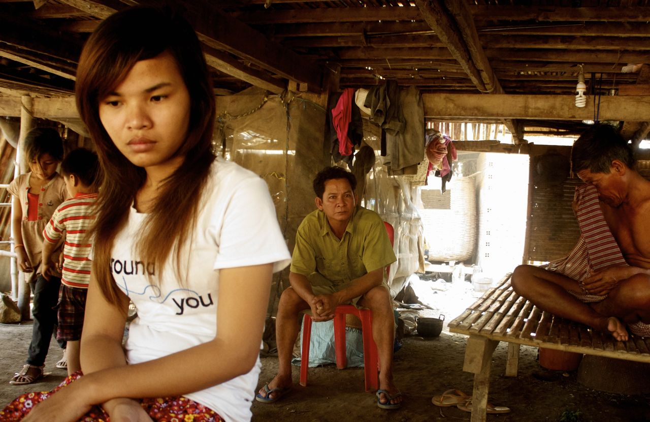 Yin Phak Tra, 19, escaped a forced marriage in China
