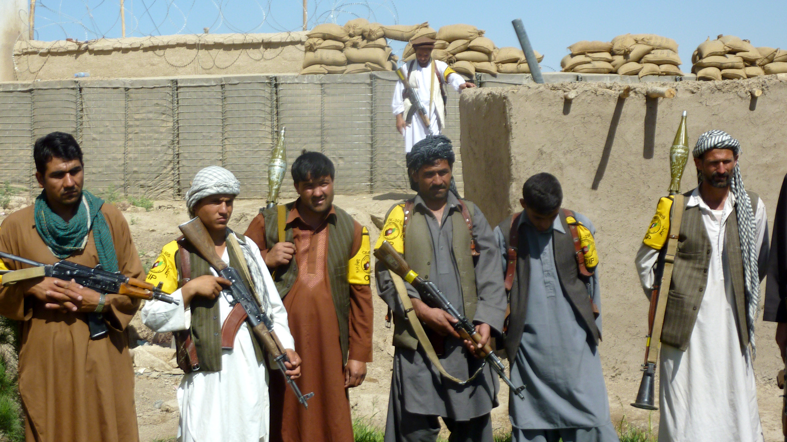 CIP militia in Afghanistan, one of a large number of unofficial armed groups