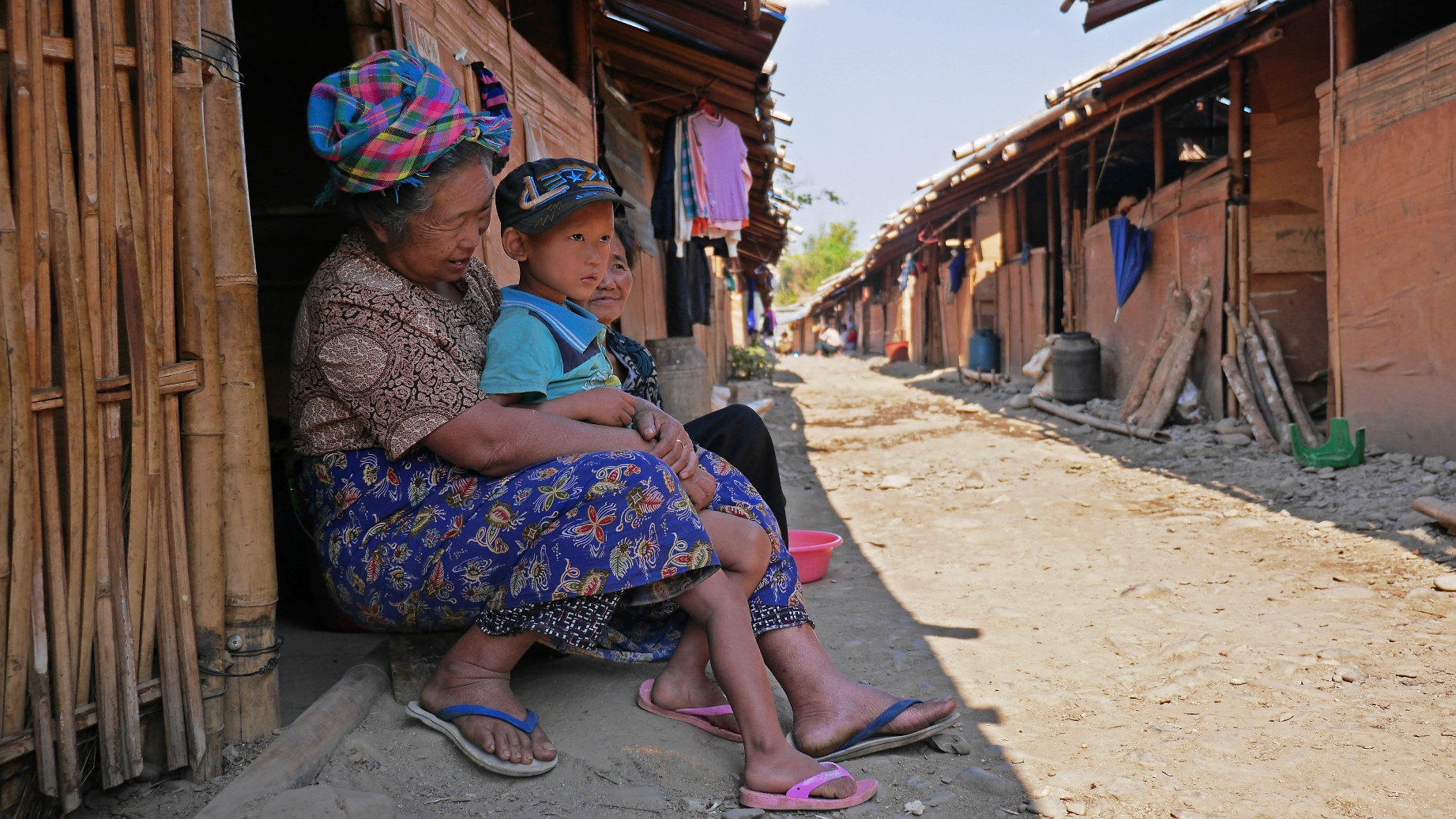 IDPs in rebel-controlled areas of Kachin State