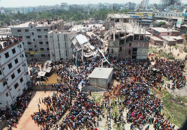 Close to 400 people lost their lives when an eight-story building outside Dhaka collapsed on 24 April, 2013, trapping thousands of mostly garment workers inside