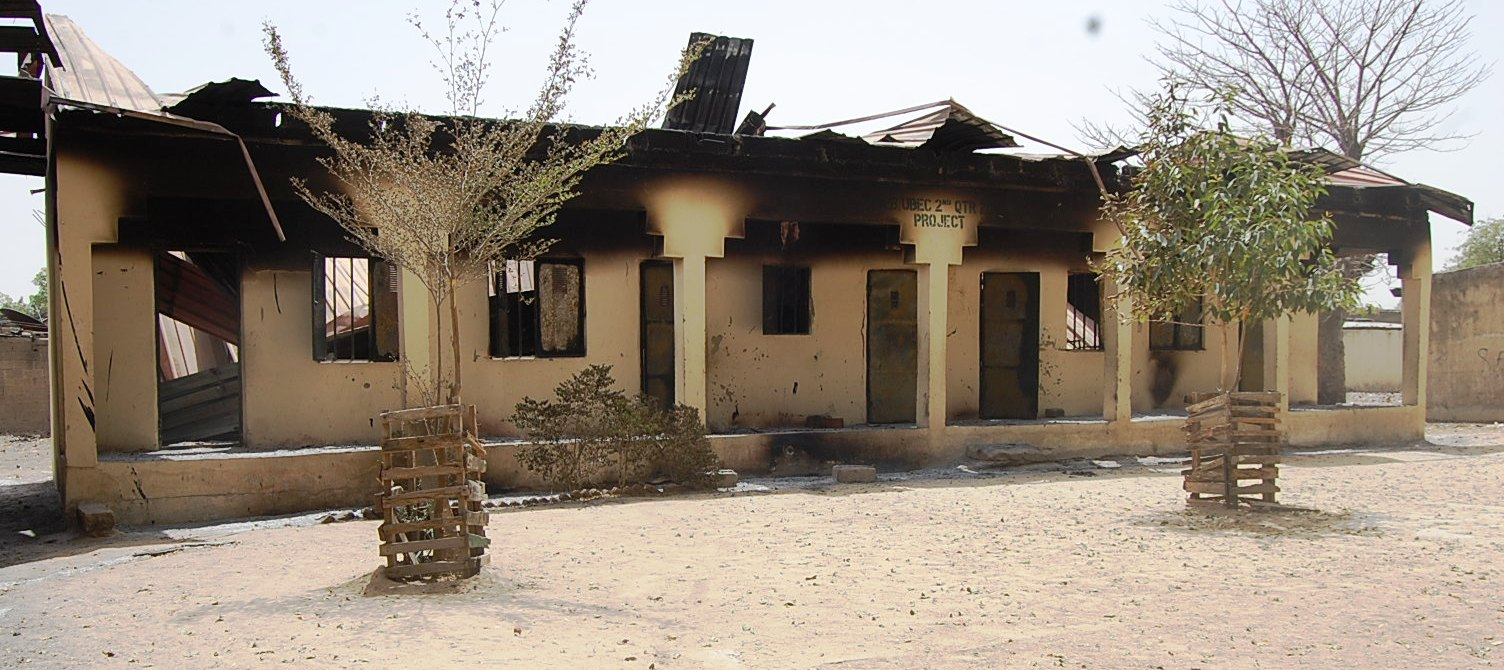 Schools burned by Boko Haram in Maiduguri in 2013