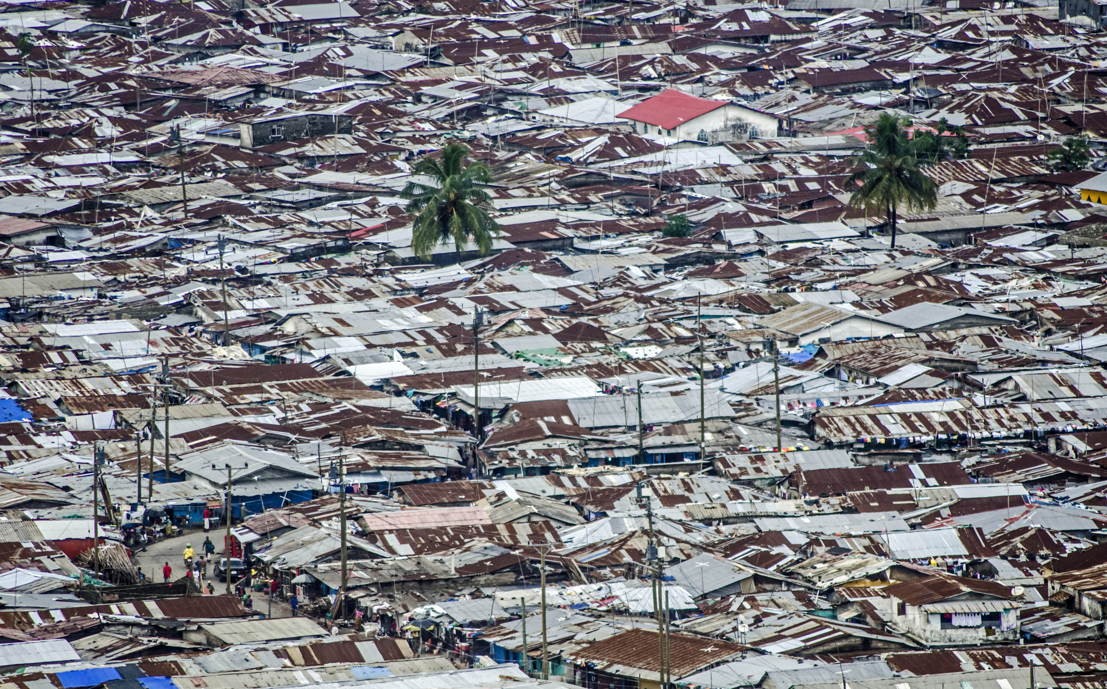 West Point slum, near central Monrovia (June 2013)