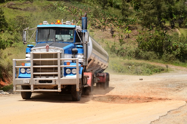 Road conditions in PNG's central highlands remains poor. Plans for a highway upgrade are part of wider government plans to improve infrastructure