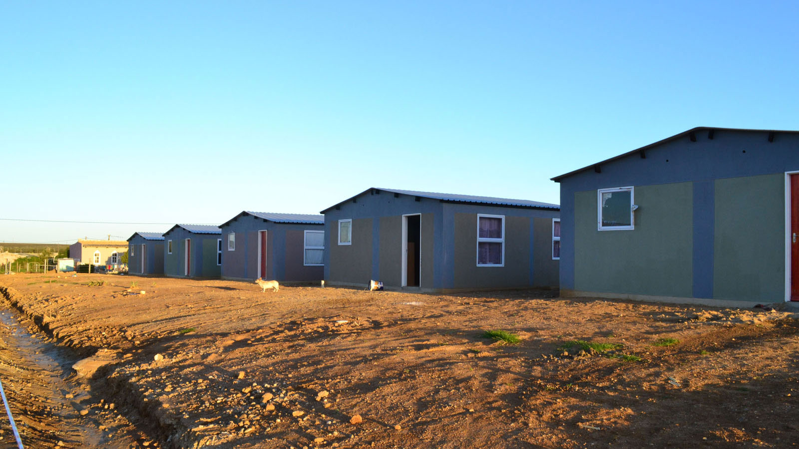 Anene Booysen was raped and disembowelled between two of these RDP (government-subsidized) houses in the rural, Western Cape town of Bredasdorp in February 2013. The case sparked a national outcry in South Africa