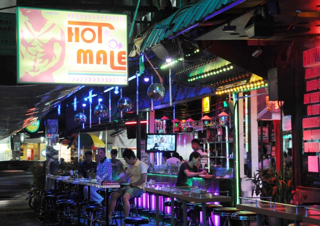Bangkok's bustling gay scene. Recent reports suggest a sharp increase in HIV infection amongst MSM