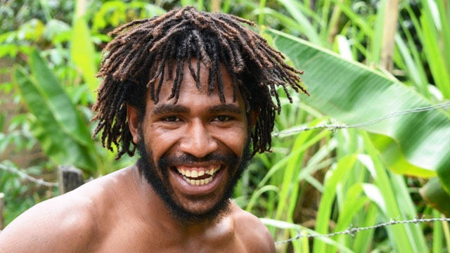 Bob Akara, 19, a resident of Gitanuga, a village of mainly subsistence farmers about 40km northeast of Goroka. says he is ready to be circumcised. A significant number of men in Papua New Guinea (PNG) are prepared to be circumcised once they learn that th