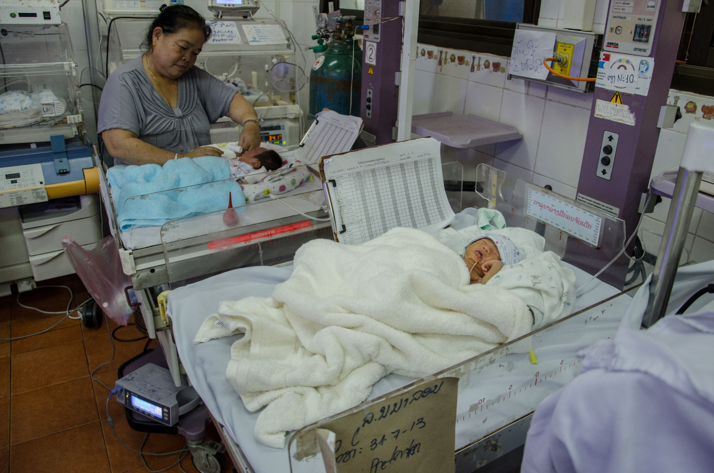 Children in Laos face a higher chance of infant mortality than elsewhere in the world due to maternal, child and reproductive health care gaps