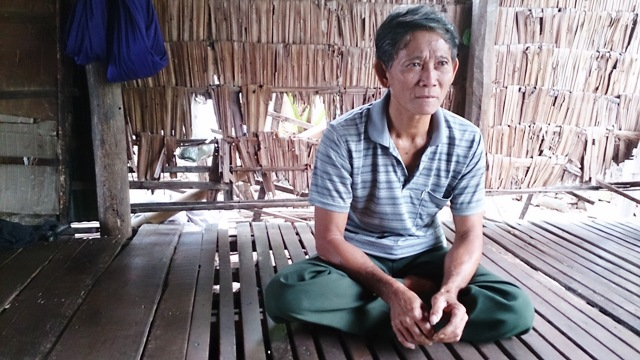 Liv Yang Bin at his home in Ech, about 50km south of Phnom Penh. The 58-year-old ethnic Vietnamese fisherman has long faced discrimination