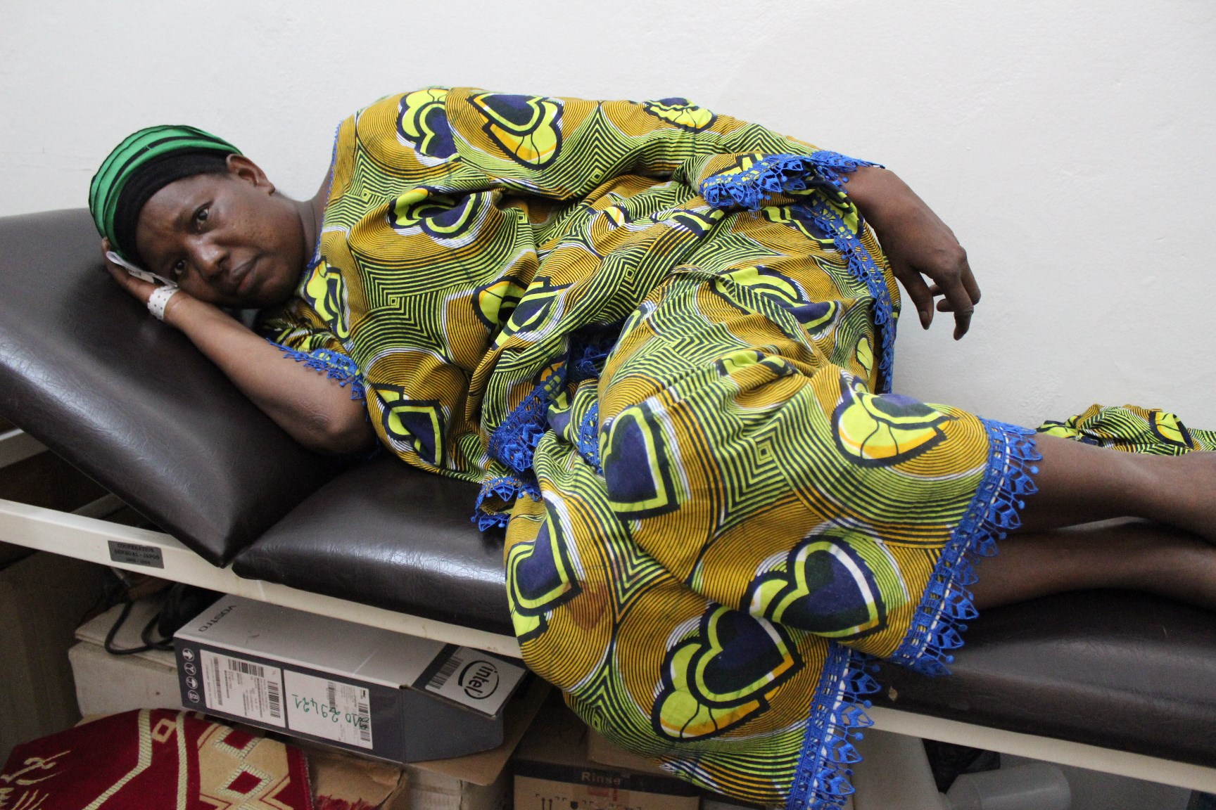 Forty-three-year-old Khadiatou Dia was diagnosed with breast cancer nearly a year ago. She is currently undergoing bi-monthly chemotherapy treatments at the Dantec Hospital in Dakar, Senegal - and she often goes without pain medication as stocks are unava