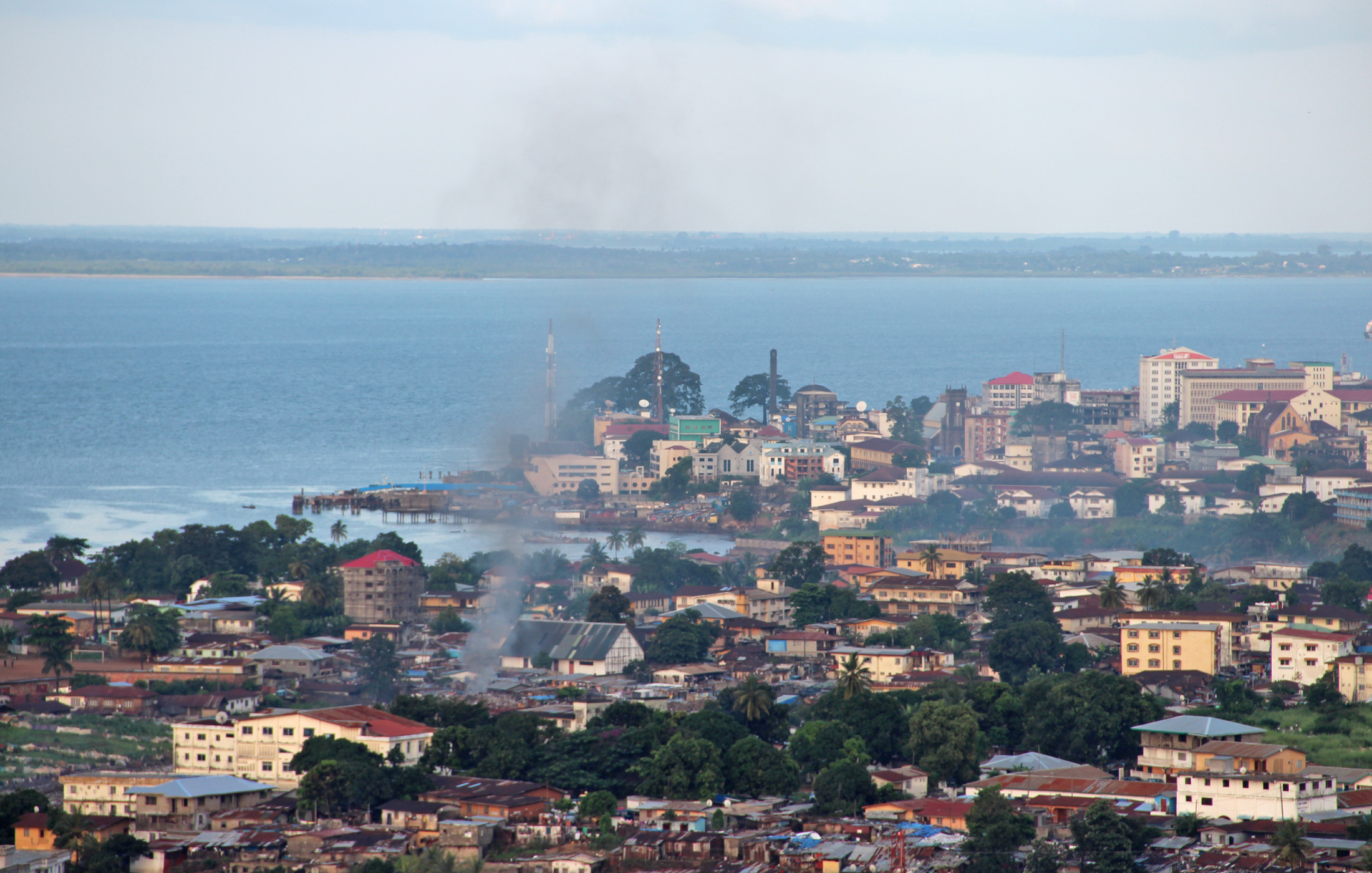 Downtown Freetown. Sexual violence is prevalent in Sierra Leone