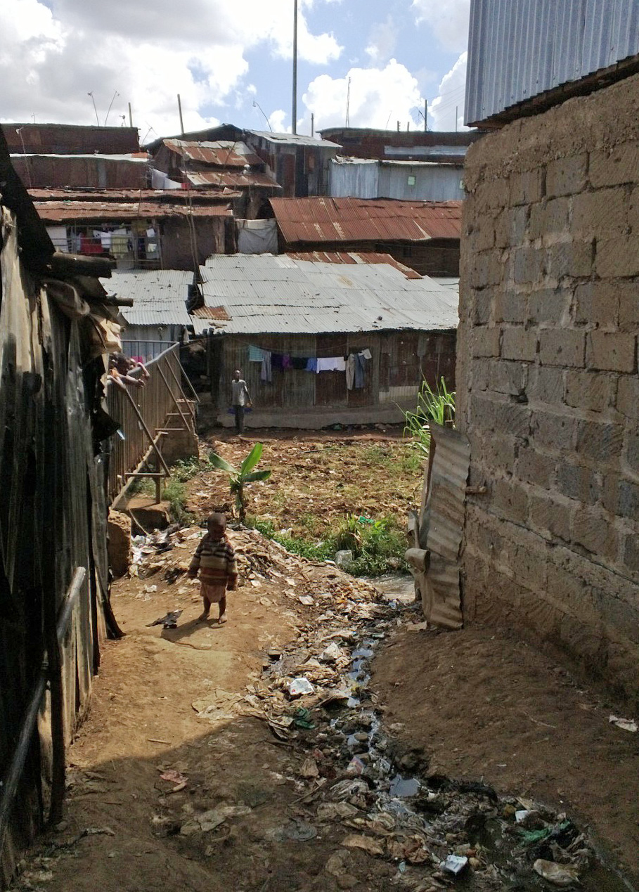 Sanitation woes in Mathare