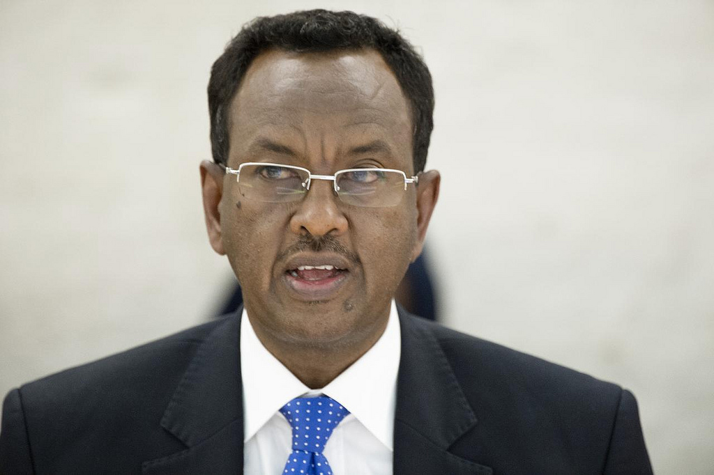 Somalia's former Prime Minister Abdi Farah Shirdon 'Saa'id'  left office on 2 December following a no-confidence vote