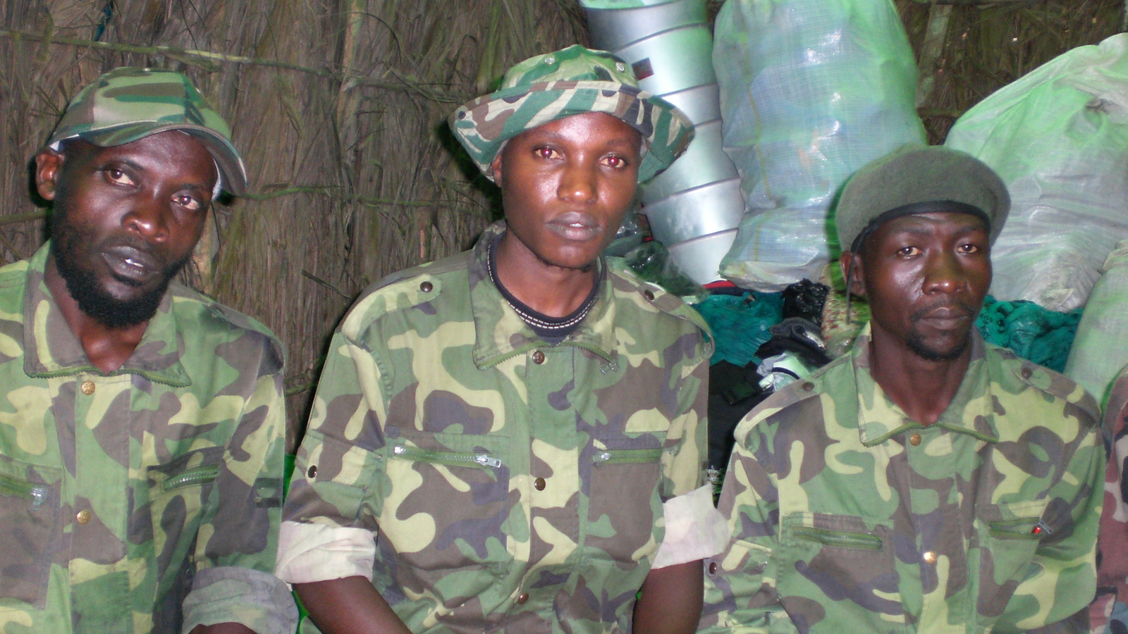 ADF rebels in eastern DRC (file photo)
