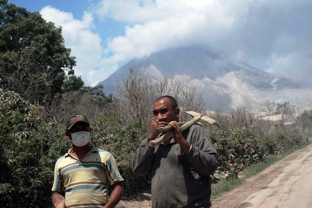 In the face of Mount Sinabung, thousands of residents had hoped to return to their homes and livelihoods prior to a major eruption of one of Indonesia's largest volcano on 1 February, 2014
