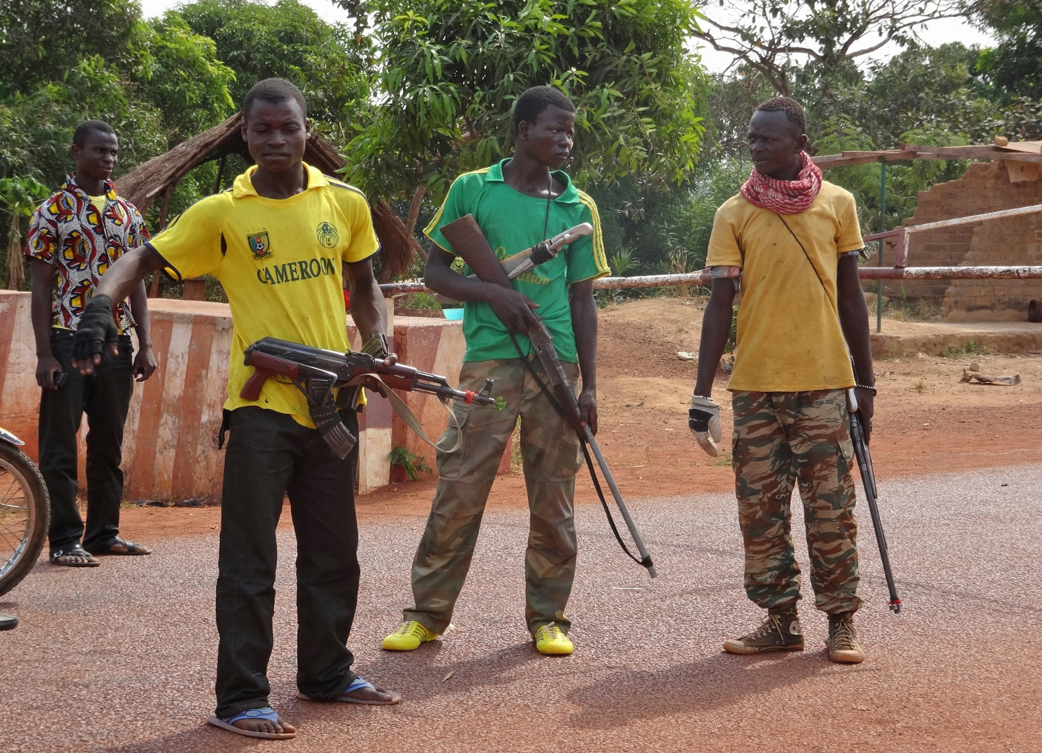 Anti-balaka militia in Bangui, CAR