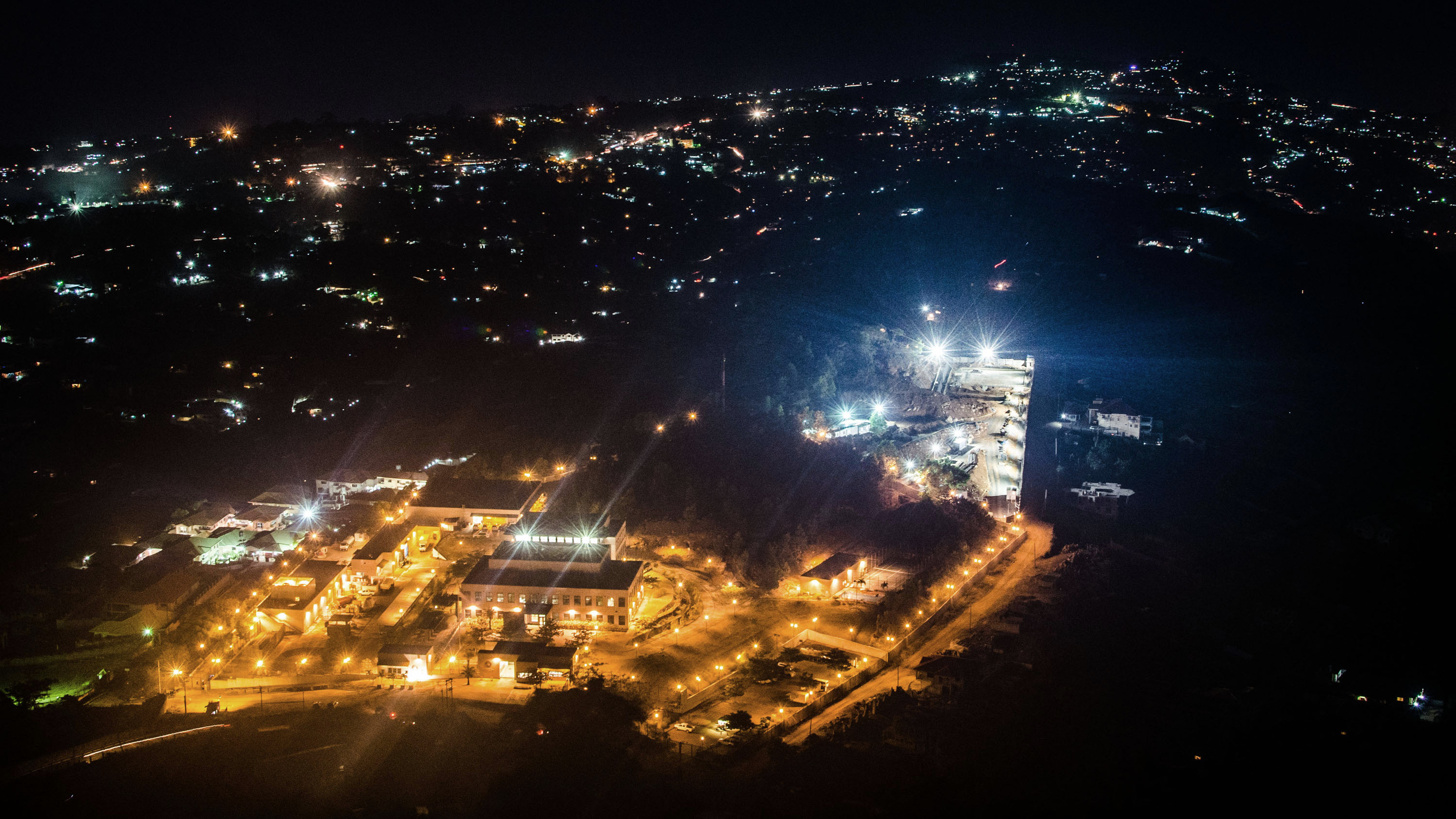 In the capital Freetown, once known as 'the darkest city in the world' blackouts are a part of life.