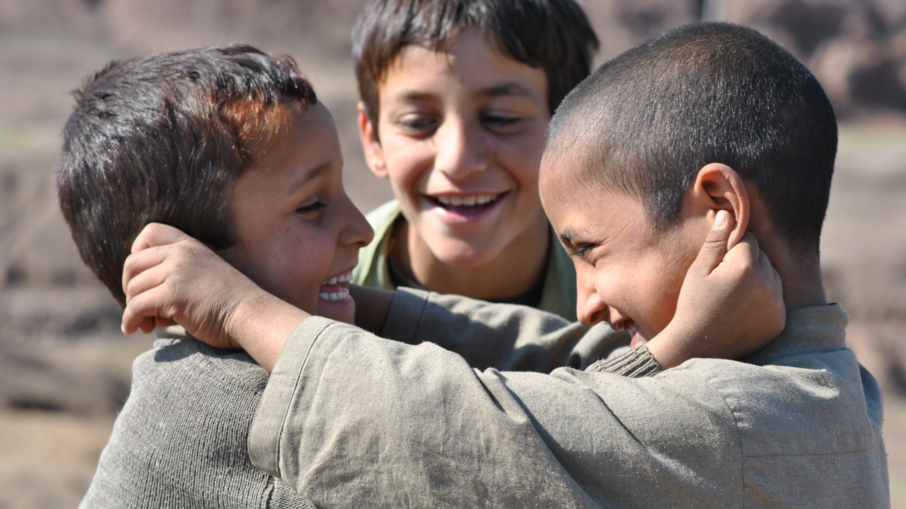 Children in North Waziristan, a mountainous region of Pakistan home to ongoing army operations against militants. Children have seen a constant armed conflict for nearly a decade now and psychiatrists worry about long-term effects on their mental health.