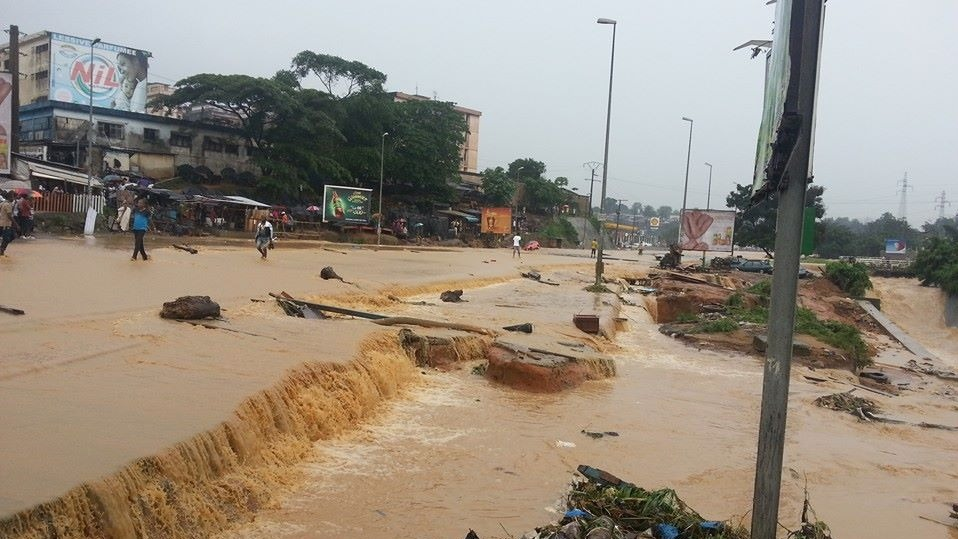Floods have wrecked havoc in Côte d'Ivoire's capital Abidjan where at least 23 people were killed in June 2014