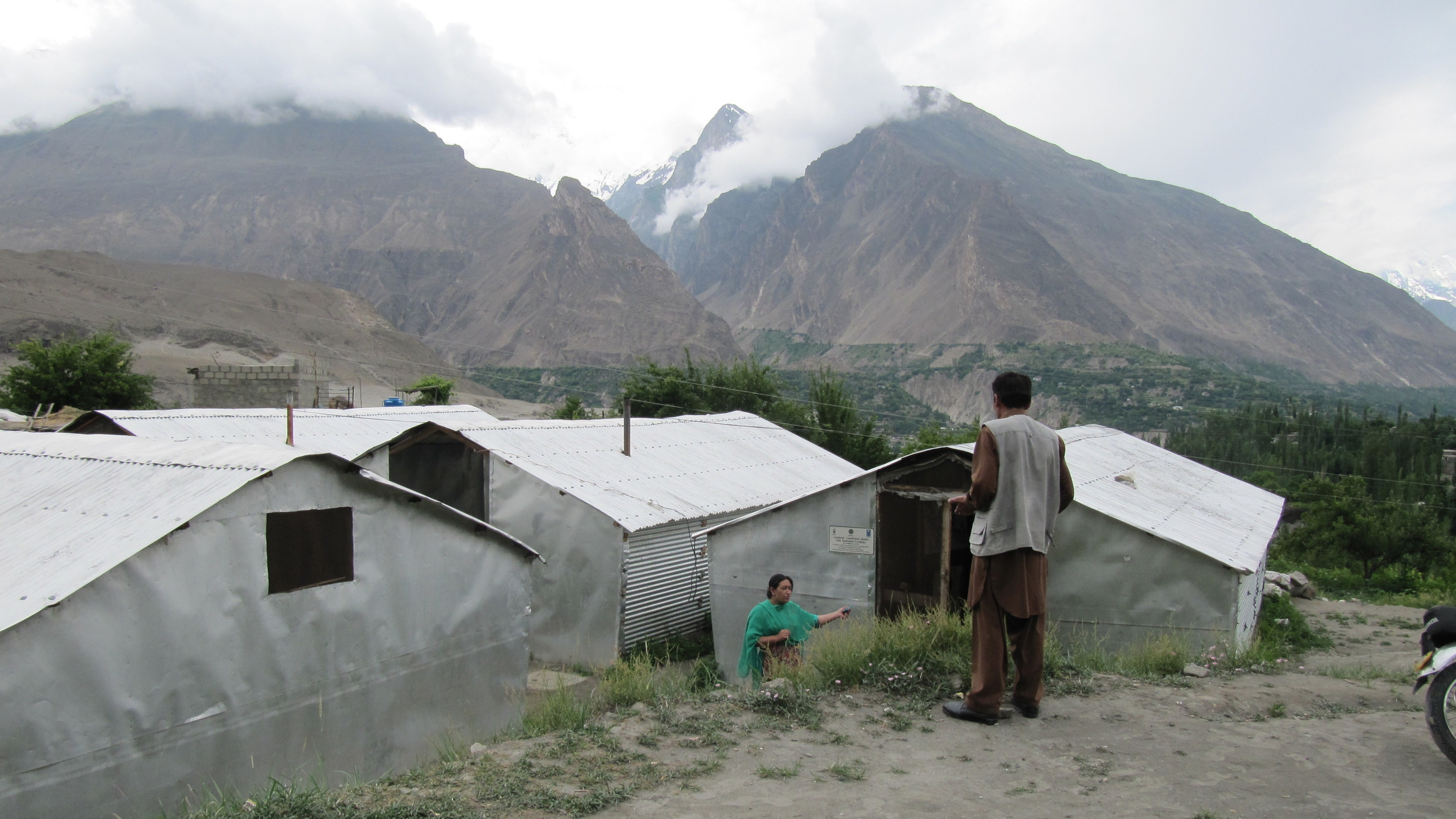 Since a major landslide left thousands homeless in the north of Pakistan in 2010, they have lived in temporary accommodation