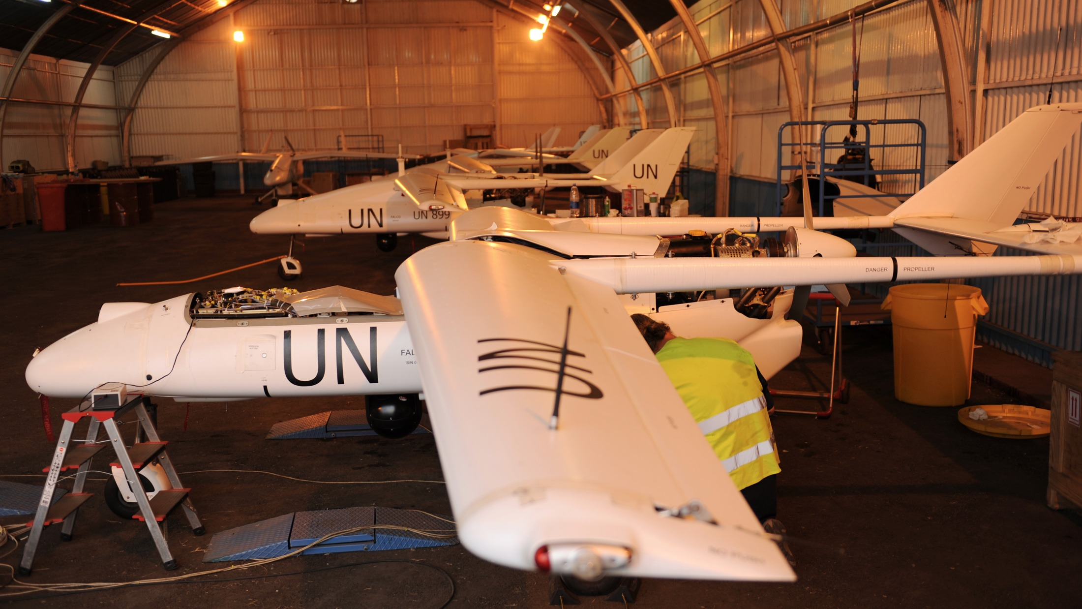 MONUSCO has five drones to support its operation in the DRC