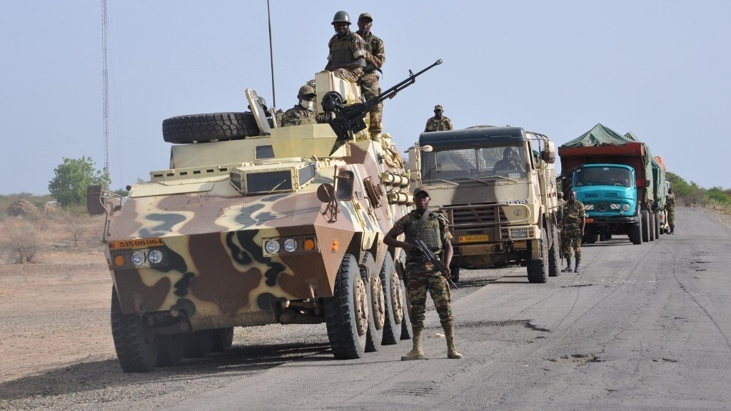 Cameroonian troops deployed in the country's Far North Region to battle radical Nigerian Islamist group Boko Haram