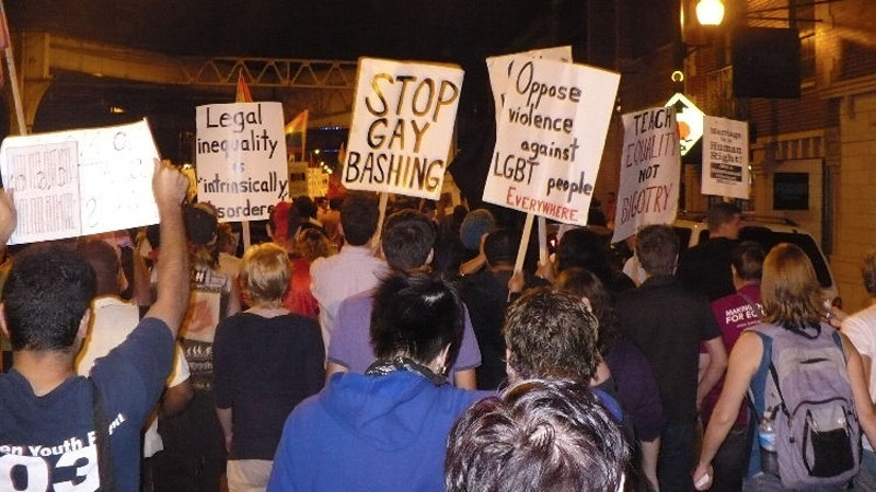 Marching for LGBT Freedom