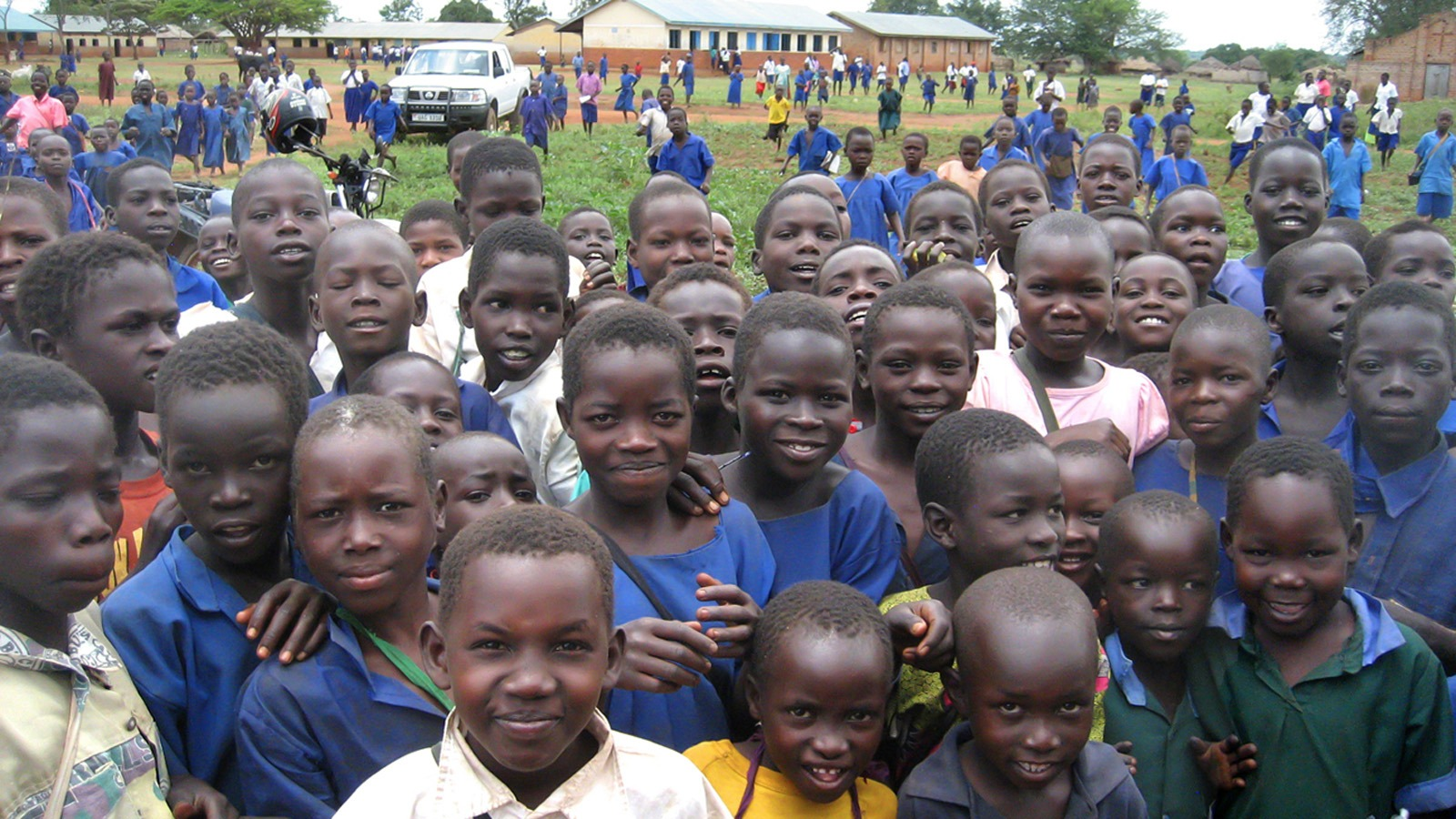 School children in Chegere, northern Uganda, 2011