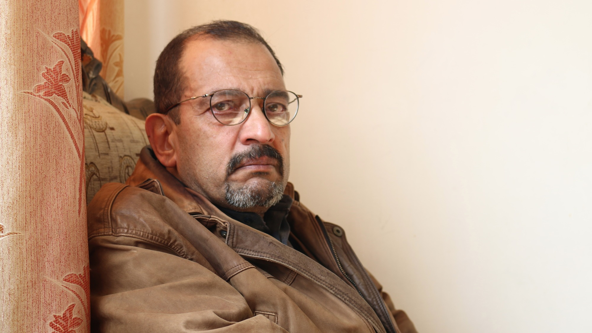 "Abdul Majeed Alhamdny, 59, fled to Jordan from Iraq in 2010 as a result of threats to his life. He was the leader of the Sahawat or ""Awakening Councils"" in Fallujah during the American occupation of Iraq."