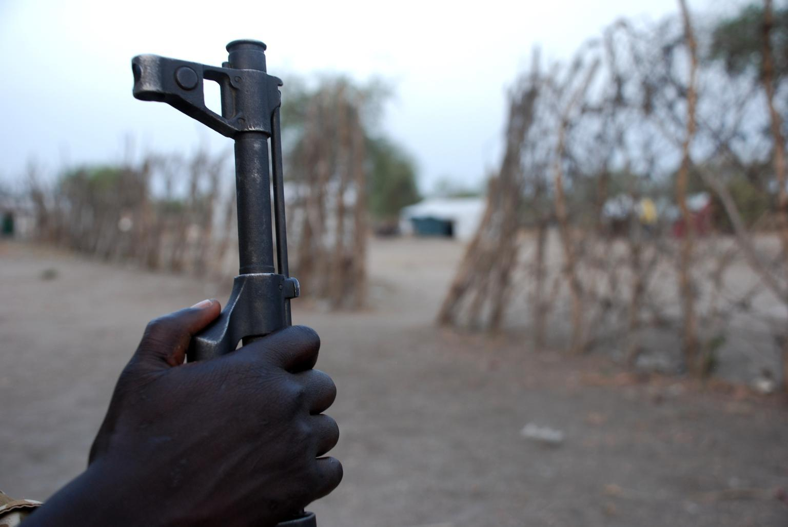 Some 12,000 children are estimated to be in the ranks of various armed groups in South Sudan