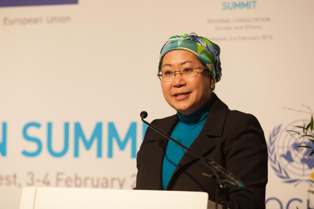 Jemilah Mahmood, Chief of the World Humanitarian Secretariat