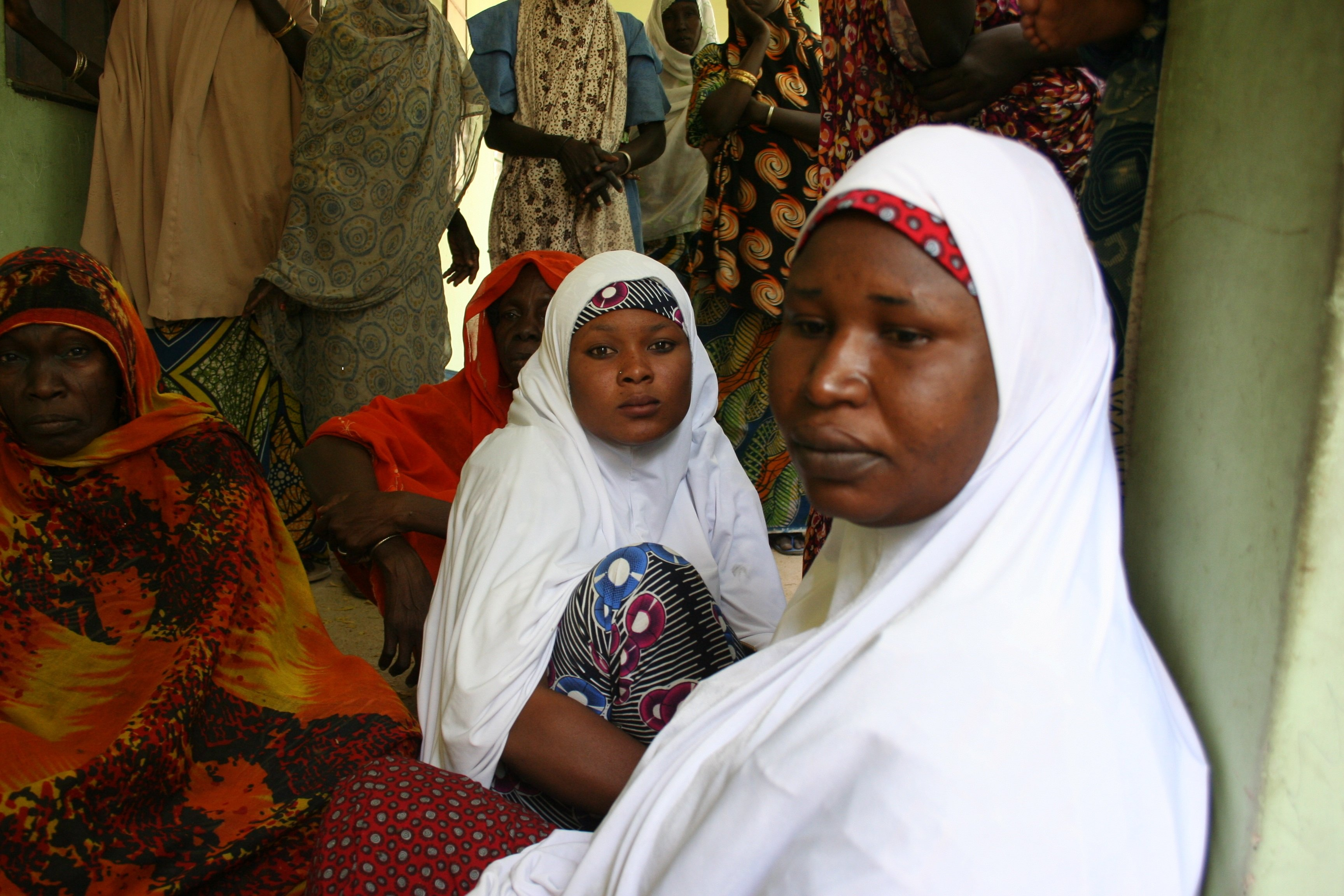 IDPs in Maiduguri, Nigeria, February 2015