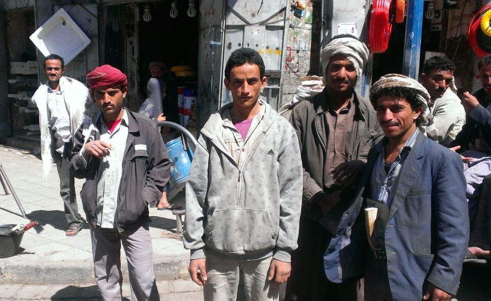 Yemenis stock up on goods ahead as the country appears to slide closer to civil war