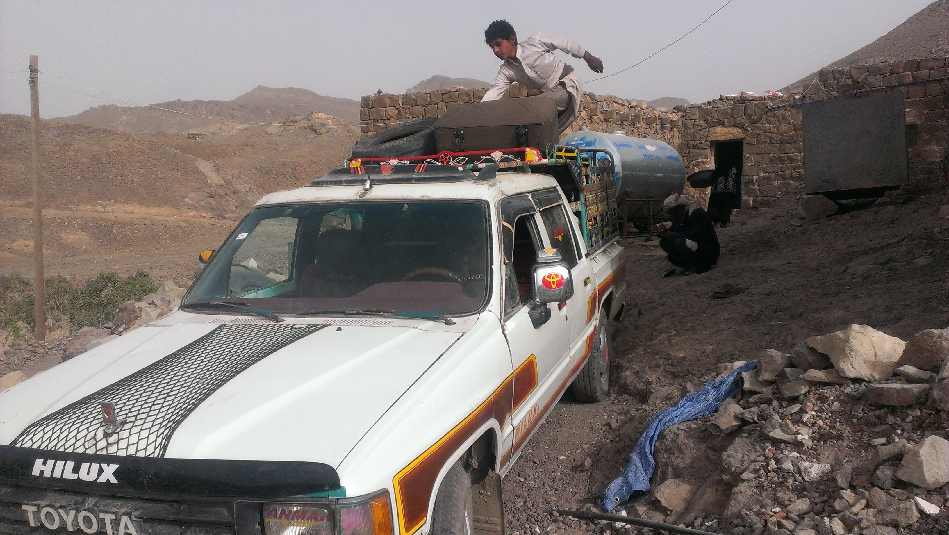 Many civilians in Yemen have fled the cities for their home villages amid a Saudi-led bombing campaign and clashes on the ground