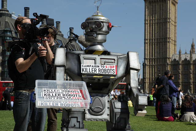 The Campaign to Stop Killer Robots has support from a number of British MPs