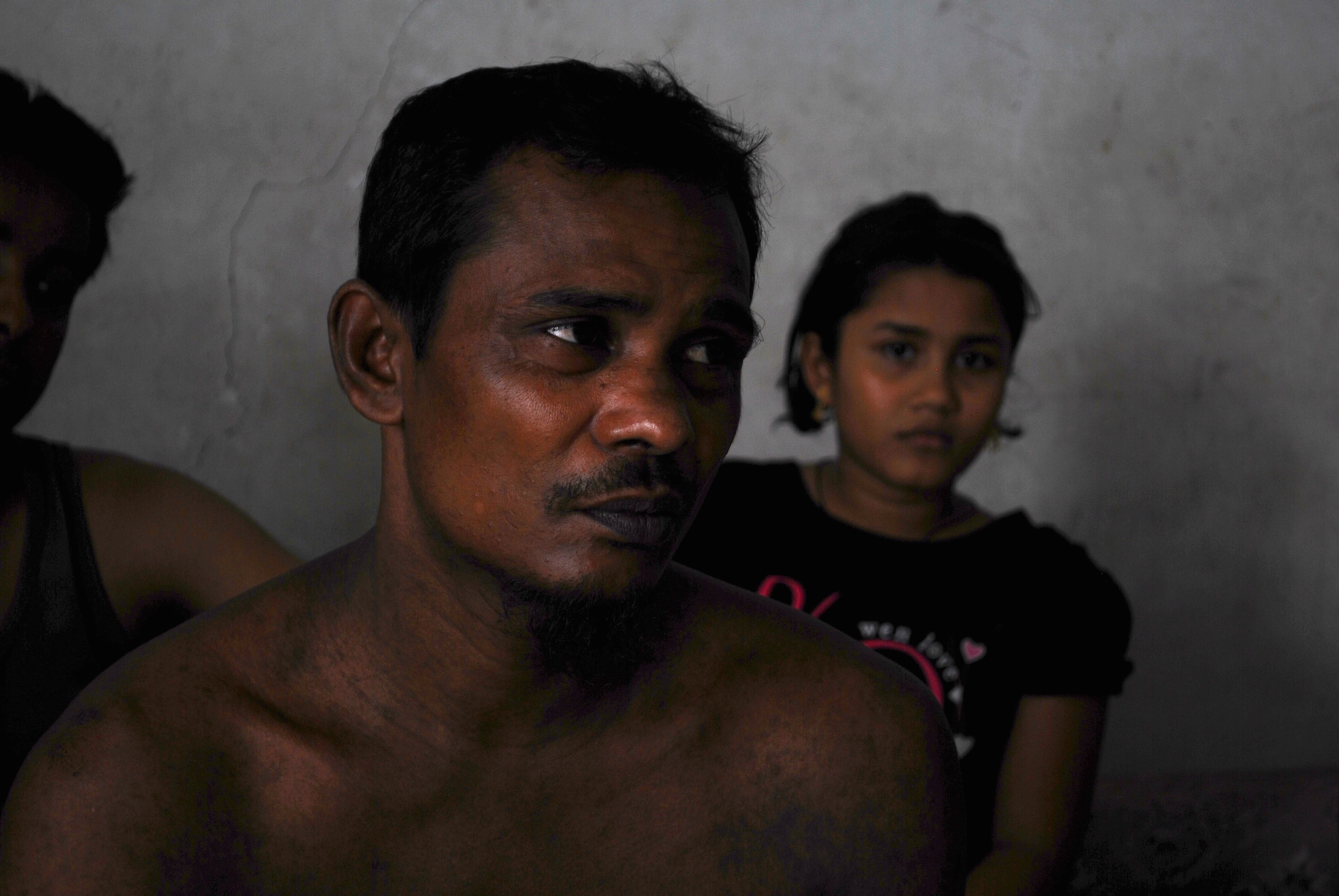 Abdul Hakim in the Rohingya community in the Malaysian capital Kuala Lumpur where he found shelter at the end of May 2015 after escaping a jungle camp run by human traffickers