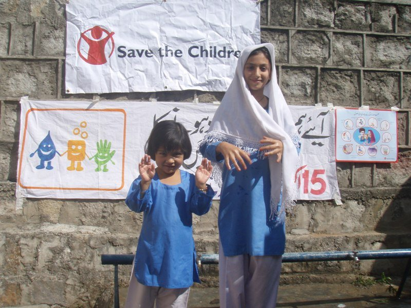 Global Handwashing day in Pakistan 2010