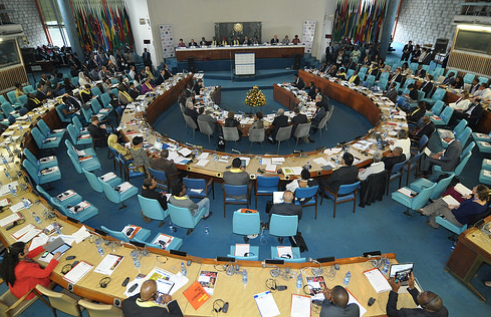 Delegates at the third UN Financing for Development Conference (FFD3) in Addis, July 2015