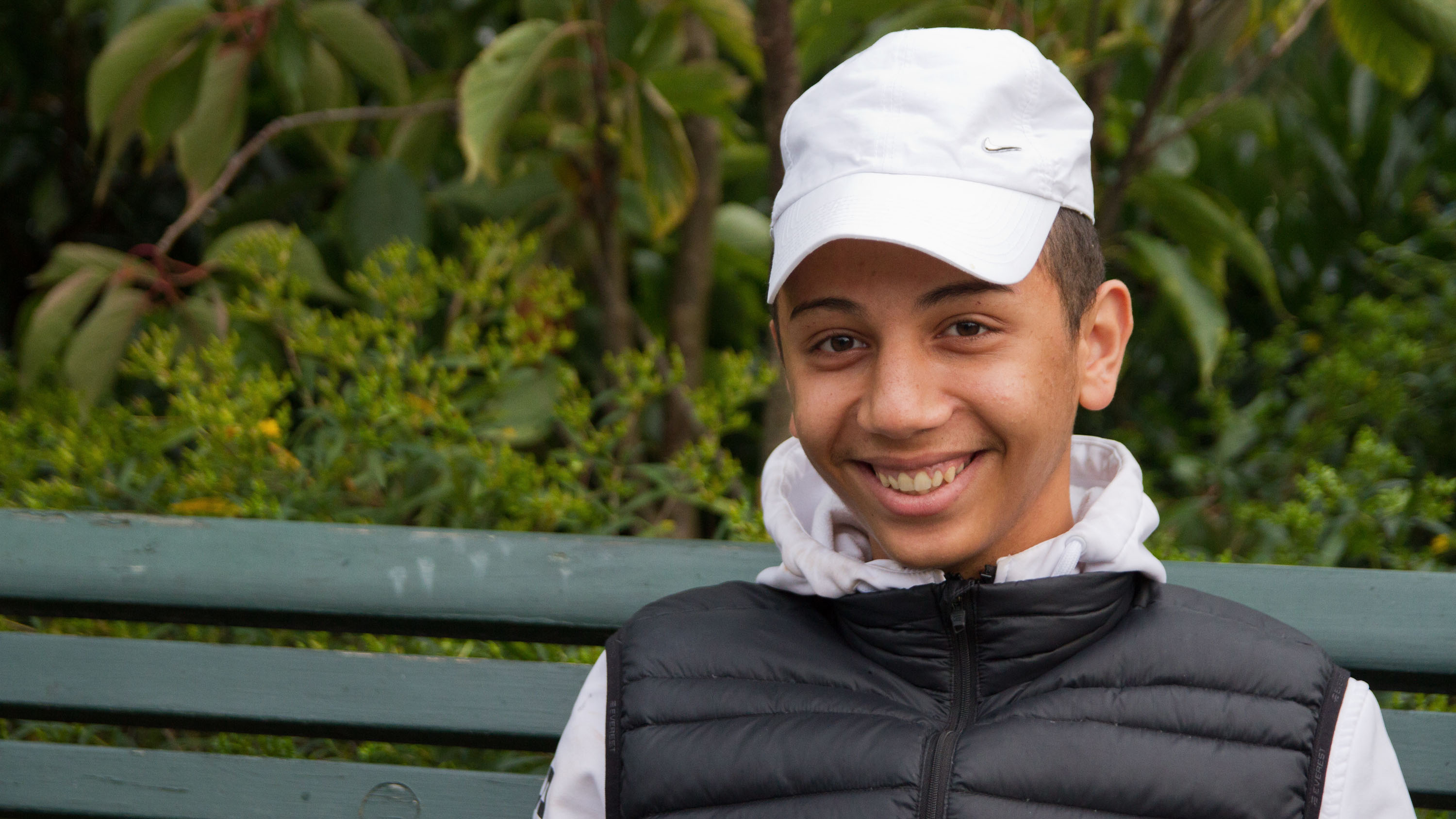 Amjad Ibrahim was only 13 when he left Syria and travelled to Sweden on his own