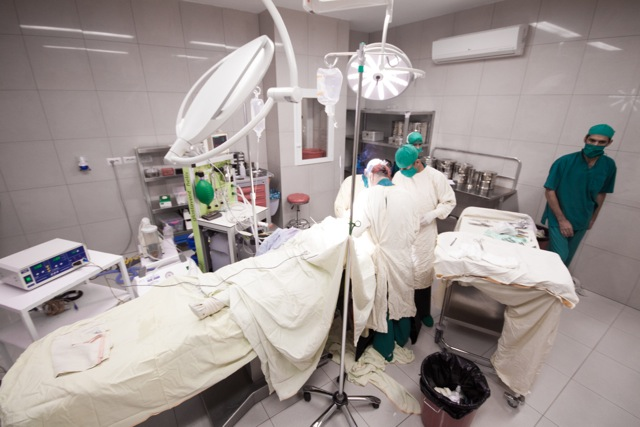 Inside the EMERGENCY Surgical Centre for Civilian War Victims in Kabul, Afghanistan, in 2015