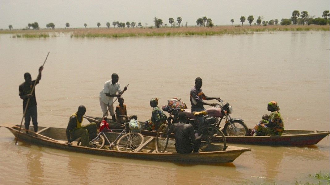 As water levels continue to rise along the Logone River in northern Cameroon, and as heavy rains flood local communities, many residents will soon be forced to move further inland.