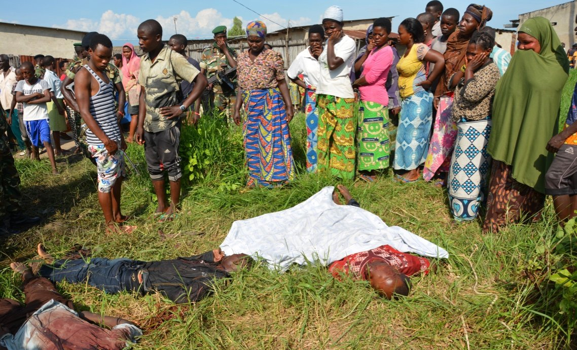 Political violence has made finding dead bodies around Bujumbura an increasingly common occurrence